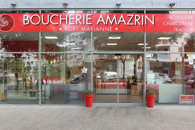 Boucherie Amazrin Montpellier vous reçoit à Port Marianne avec ses viandes halal sélectionnées, ses plats cuisinés et à emporter (® SAAM-Fabrice Chort)
