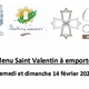 Le Mazerand Lattes propose son Menu Saint Valentin à emporter.