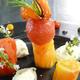 Le Mazerand Lattes restaurant présente la recette d'une belle assiette fraîcheur autour de la tomate à déguster près de Montpellier.(® Le Mazerand)