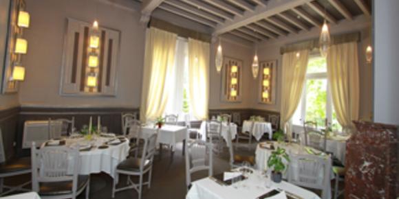 Mazerand Restaurant gastronomique Lattes près de Montpellier avec jardin, terrasses et salles pour séminaires, mariages, réunions d'affaires ou privées (® SAAM-fabrice Chort)