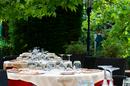 Restaurant gastronomique terrasse Montpellier Le Mazerand Lattes et ses magnifiques terrasses dans le Parc (® SAAM-fabrice Chort)